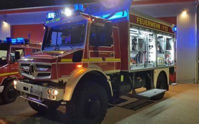 Unimog-Projekt mit der Feuerwehr Minden