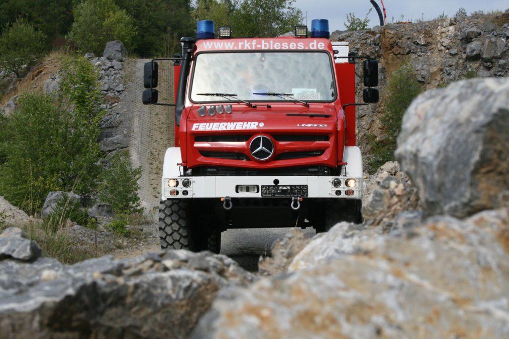 Unimog Allradtraining Feuerwehren – Balve 2019