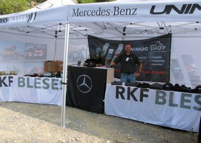 RKF-Bleses Unimog-Shop in Balve 2019.