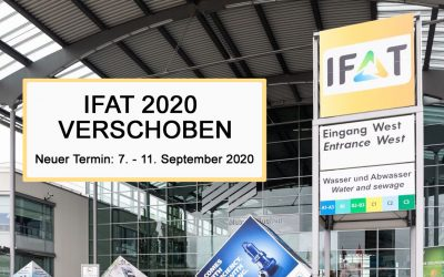 IFAT verschoben auf September 2020