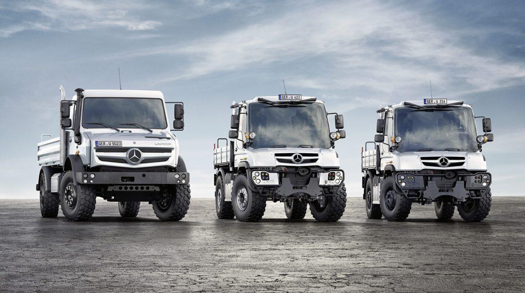 Mercedes-Benz Unimog – Ehrung Vertriebsleistungen 2018, Segment Feuerwehr