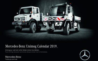 Unimog Wandkalender 2019