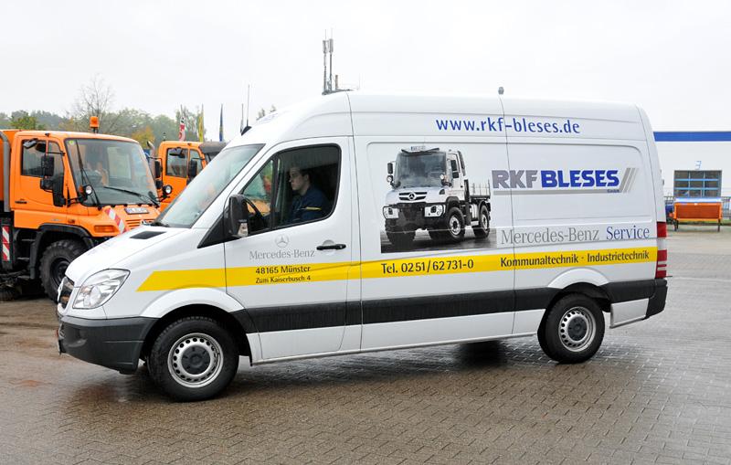 RKF-Bleses: Mobiler Werkstattservice