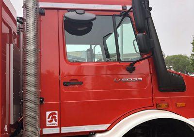 Unimog U 5023: Vorführfahrzeug Feuerwehrausstattung