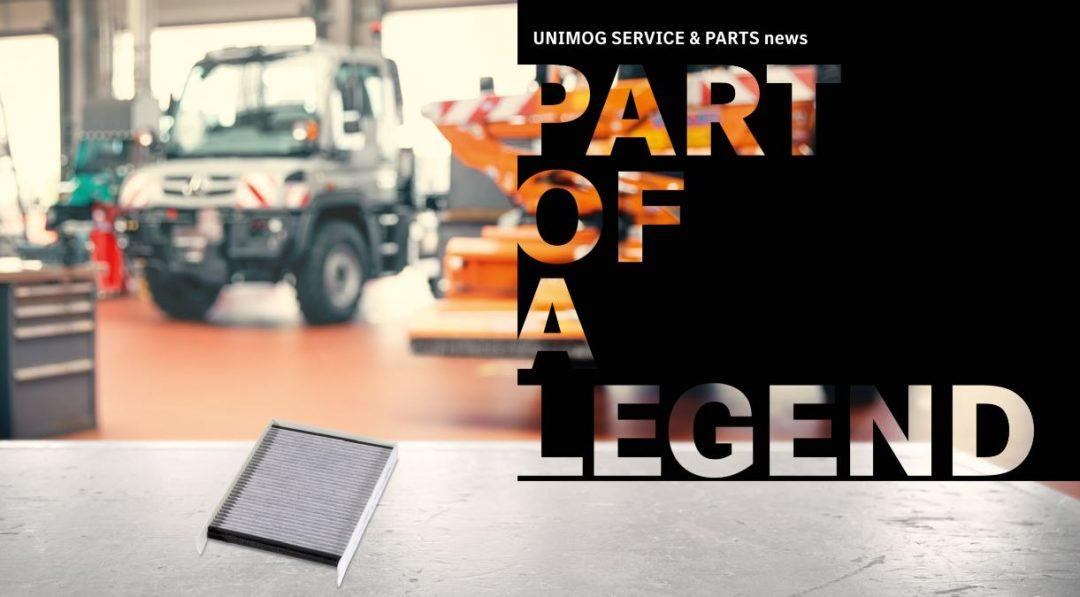 Mercedes-Benz Original-Aktivkohlefilter für Unimog Geräteträger Euro 6