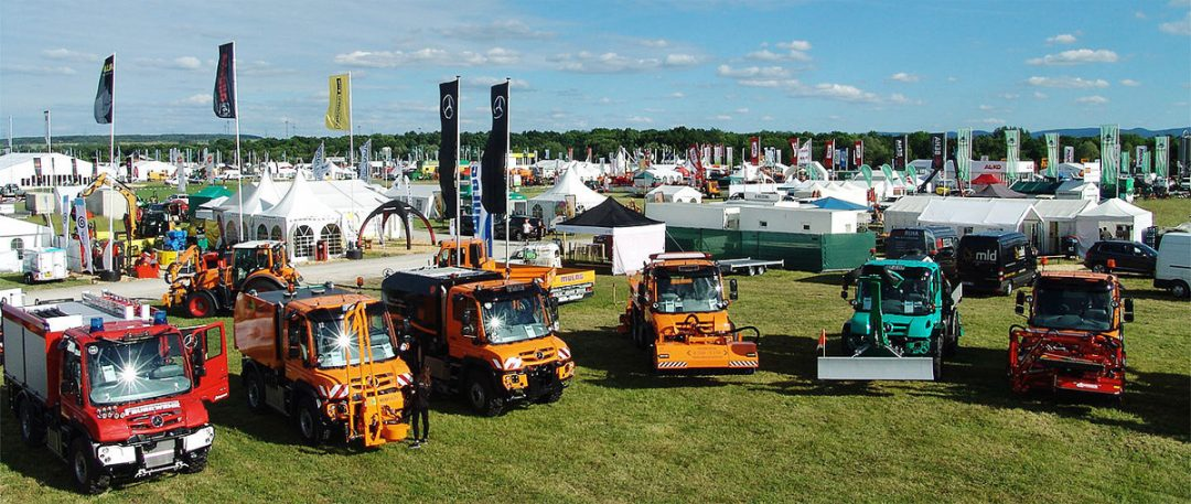Unimog Messetermine und Events 2019