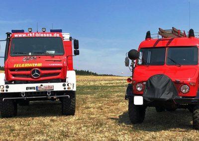 Der Unimog als Feuerwehr- und Katastrophenschutzfahrzeug - damals und heute!